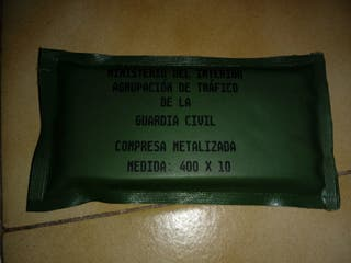 Compresa Metalica Guardia Civil