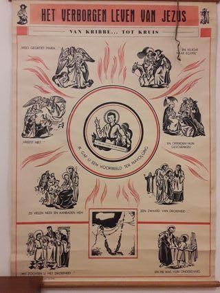 Poster educativo /Decoracion Vintage