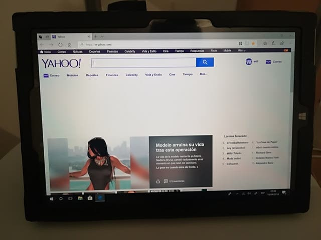 tablet surface 3