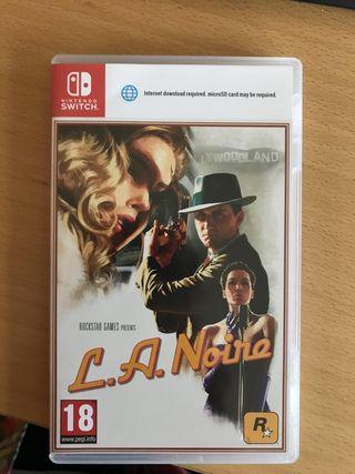 cambio LA NOIRE Nintendo Switch