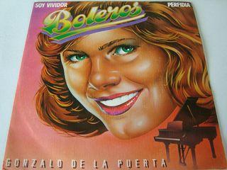 """GONZALO DE LA PUERTA-.BOLEROS """"SOY VIVIDOR""""."""