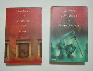 2 Libros Dan Brown.