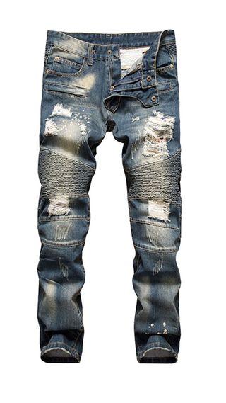 pantalon vaquero jeans bike con etiketa a estrena