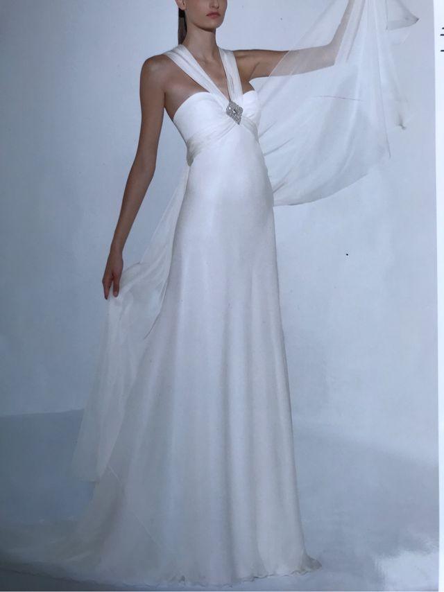 vestido novia-josÉ maria peiro-pvp=2330€ de segunda mano por 390