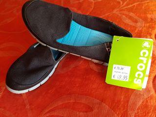 Zapatillas lona marca Crocs