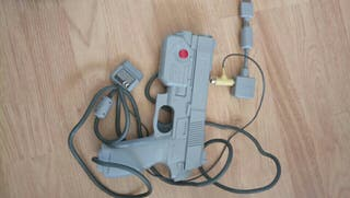 pistola de playstation