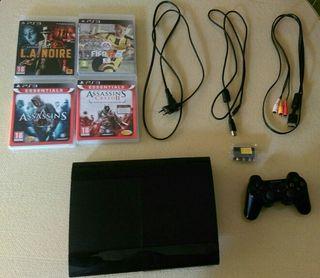PlayStation 3 slim 12gb segunda mano  España