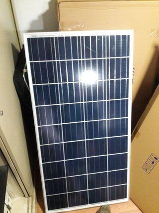 placas solares 130w 12v policristalinas