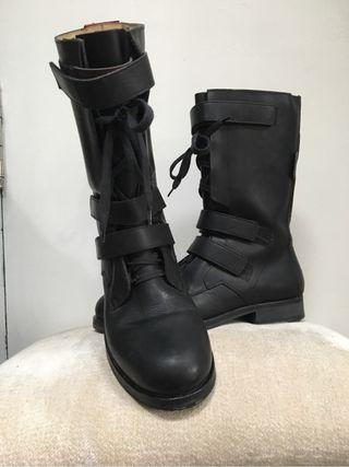 Botas de piel Hugo Boss