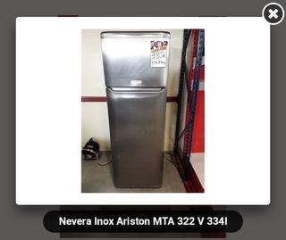 Nevera inox Ariston