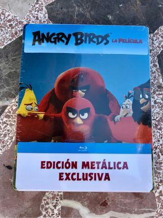 Angry Birds La Pelicula - Blu-ray (Steelbook)