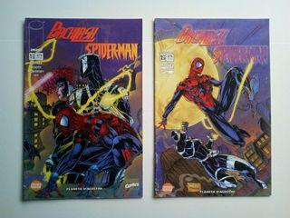 Comic Spiderman Backlash