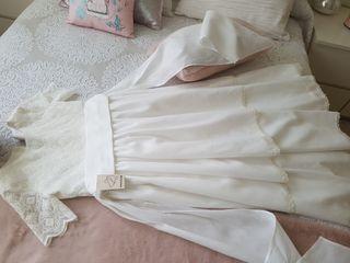 vestido PRIMERA COMUNION TALLA 8 sin estrenar