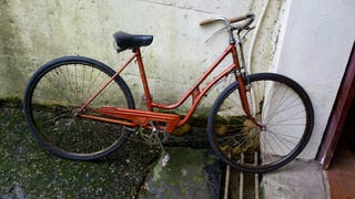 bicicleta bh antigua freno varilla