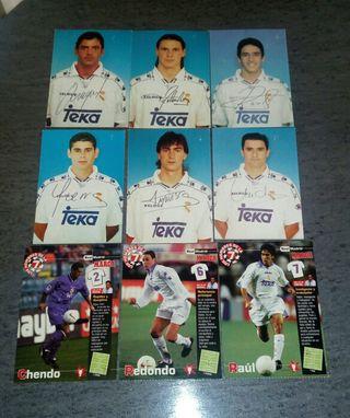 Postales y fotografías del Real Madrid
