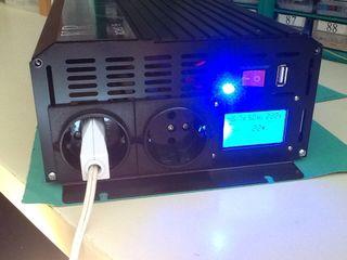 Inversor onda pura 48V a 230V potencia 2000W NUEVO