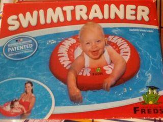 flotador de aprendizaje infantil