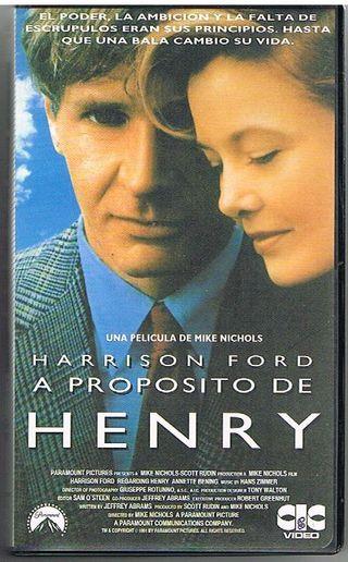 A proposito de Henry ( Cinta de Video VHS )