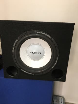 Subwoofer climax 500rms
