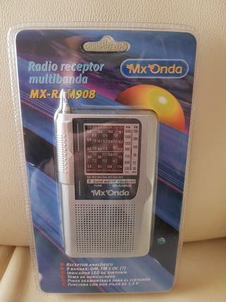 RADIO Receptor Multibanda MX ONDA