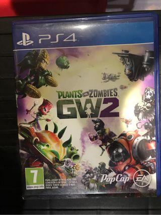 Plants vs Zombies 2 GW2 PS4