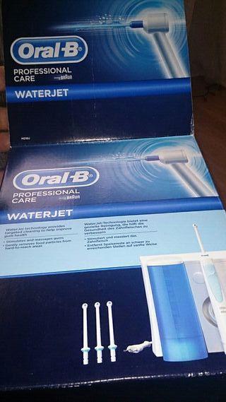 cepillo electrico con agua a presion