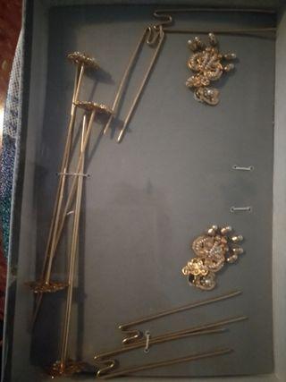 peinetas y accesorios