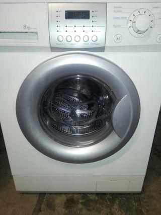 lavadora LG 8kg
