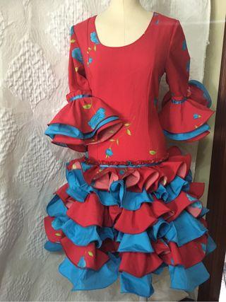 Vestido deflamenca