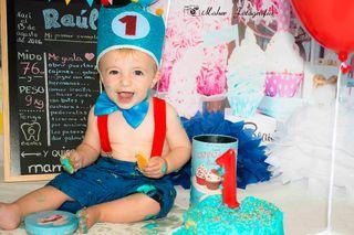 Sesión fotos Cumpleaños Smash Cake