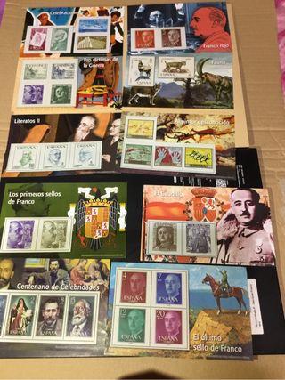 Replicas 134 sellos franquismo