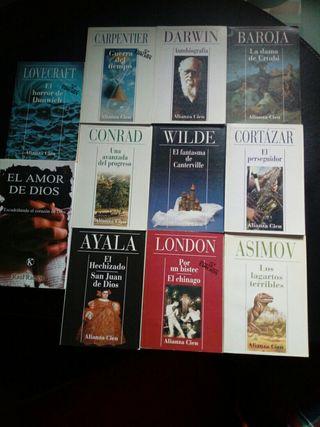 Lote de libros mini de bolsillo