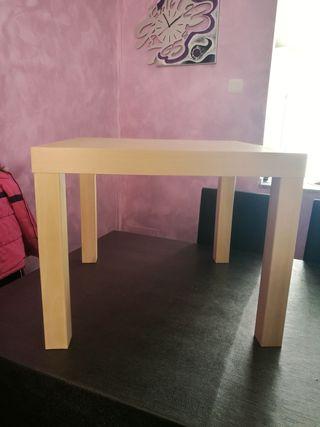 mesa madera niños