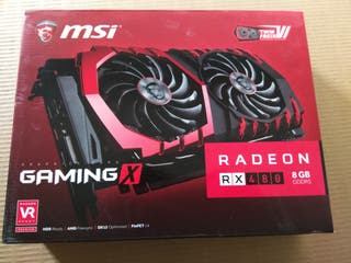 tarjeta gráfica, AMD RX 480 8 GB