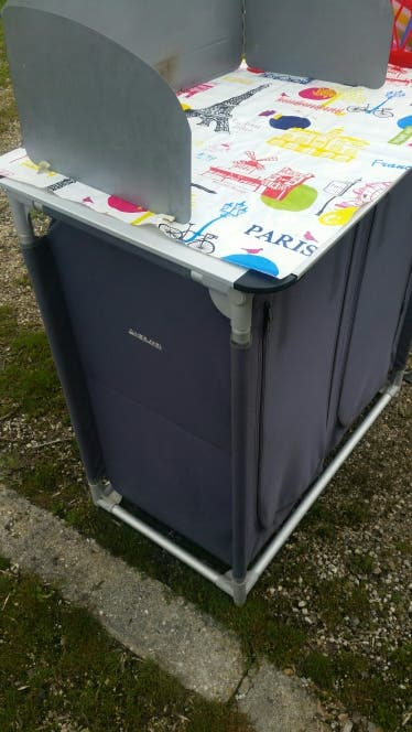 Mueble cocina camping de segunda mano por 80 € en Pinto - wallapop