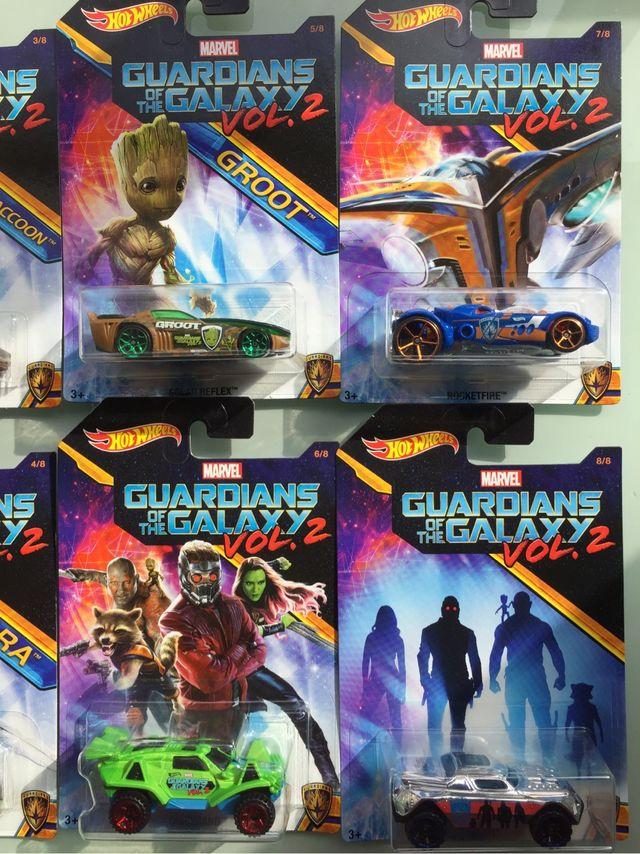 Hot wheels Guardianes de la galaxia vol. 2