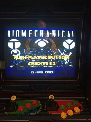 Biomechanical toy - jamma