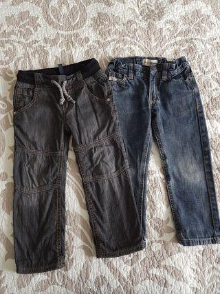 Lote 2 pantalones niño