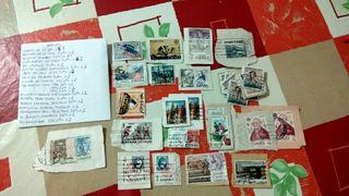Lote 2.397 sellos España y otros Paises, Filatelia