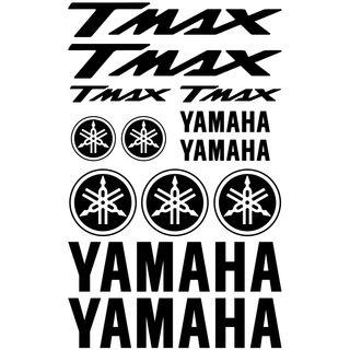 Pack Pegatinas Yamaha Tmax/ Yamaha Xmax envíos