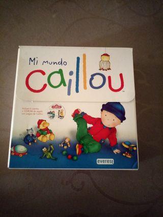 Libros infantiles Caillou