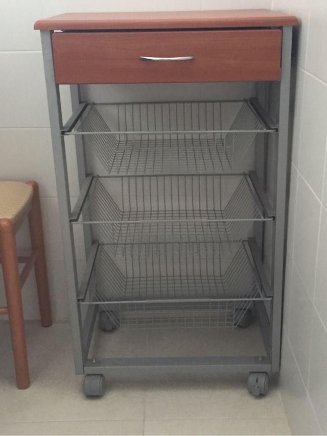 Mueble auxiliar cocina de segunda mano por 50 € en Bonanza en WALLAPOP