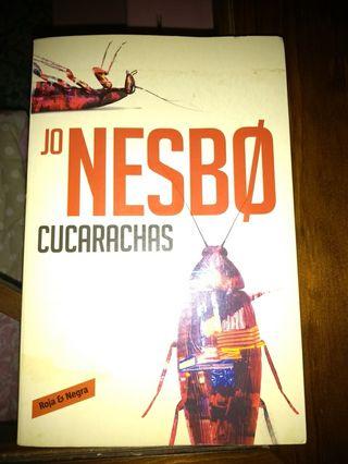 Libro Cucarachas de Jo Nesbø