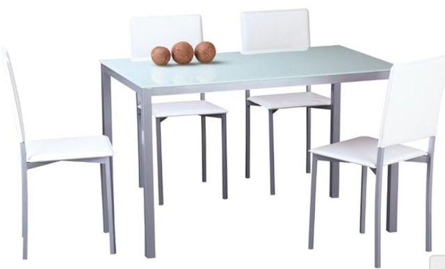 Mesa y sillas cocina de segunda mano por 130 € en Cruz de Gracia en ...
