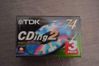 cintas de casette pack 3
