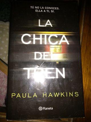 "Libro ""La chica del tren"" de Paula Hawkins"