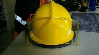 casco bombero MSA