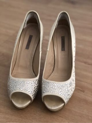 Zapatos novia Uterqüe