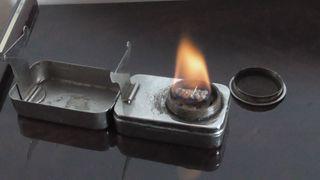 hornillo, fogon, lampara de alcohol o parafina