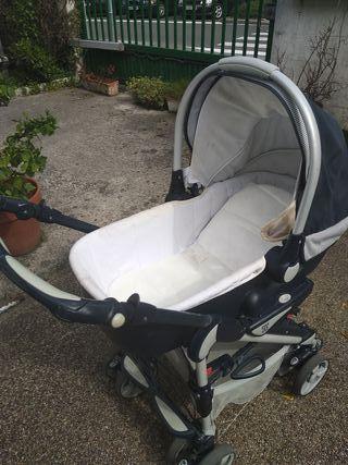 Duo coche y silla bebé con bolso-cambiador